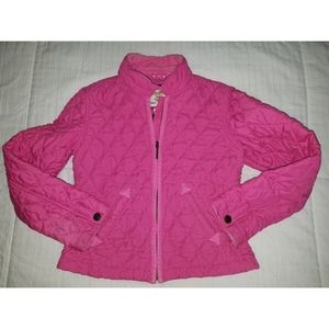 Other - GAP Girls Pink Quilted Zip-Up Jacket XL